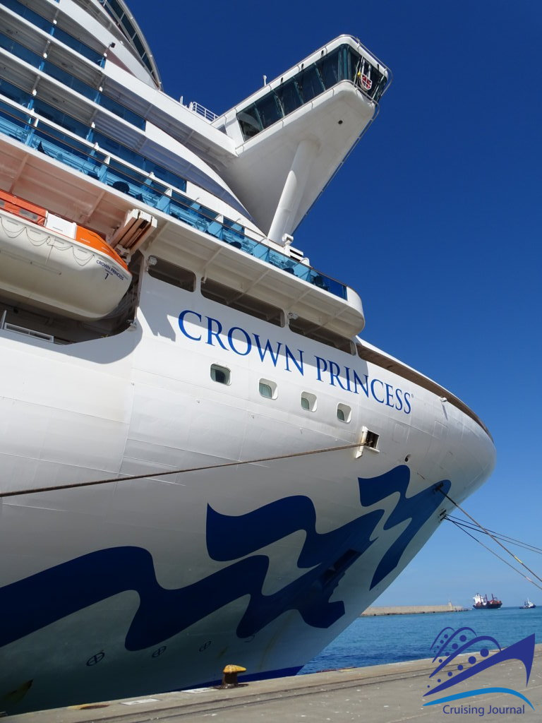 The Crown Princess, classic elegance