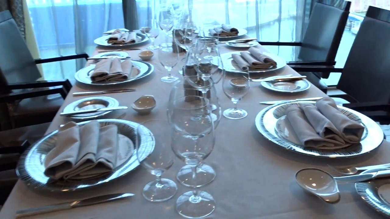 Oceania Cruises: il Tuscan Steak Restaurant