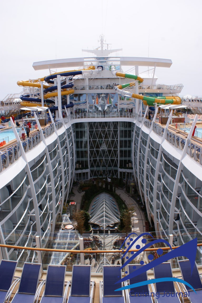 The Symphony of the Seas: all the spaces