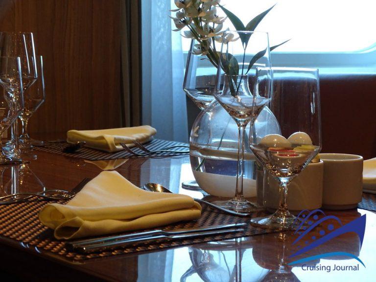 Seabourn Encore - The Colonnade Restaurant