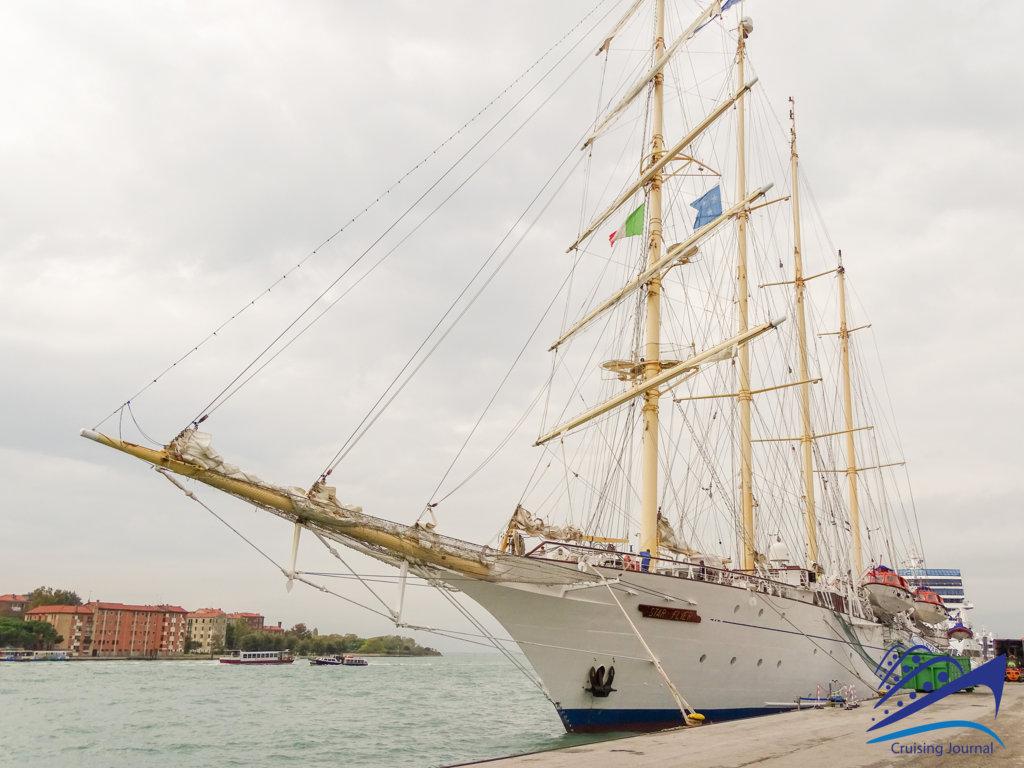Waves, wind, sails: we get on board of Star Flyer
