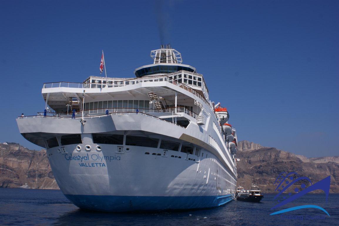 Celestyal Olympia: a ship for the Aegean Sea