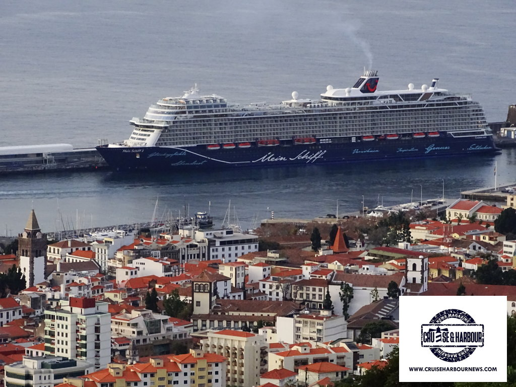The new Mein Schiff 2 in the Cruise & Harbour pictures