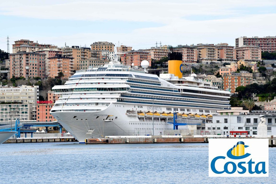 Costa Fortuna: fotografias do Cruising Journal