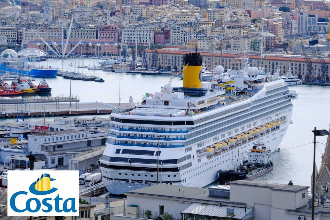 Costa Fortuna: the ship of the ocean liners