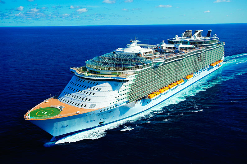 Oasis Of The Seas: a World around the World