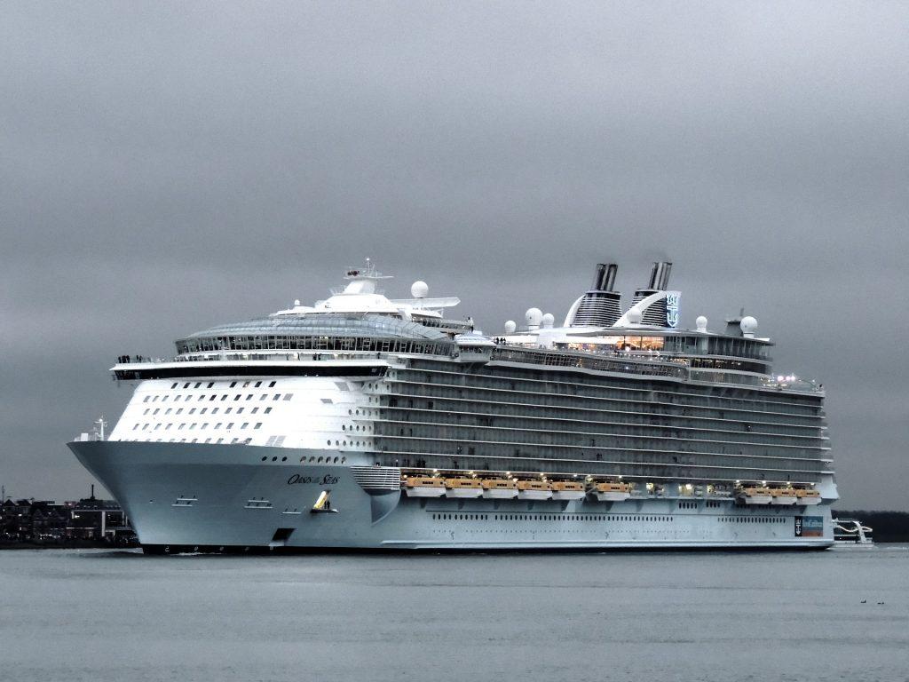 Imagem mostra o Oasis of the Seas