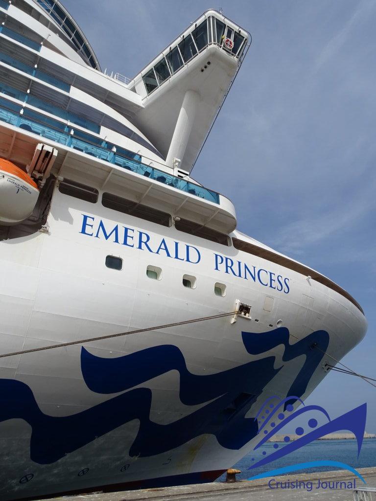 Un tour sur l'Emerald Princess