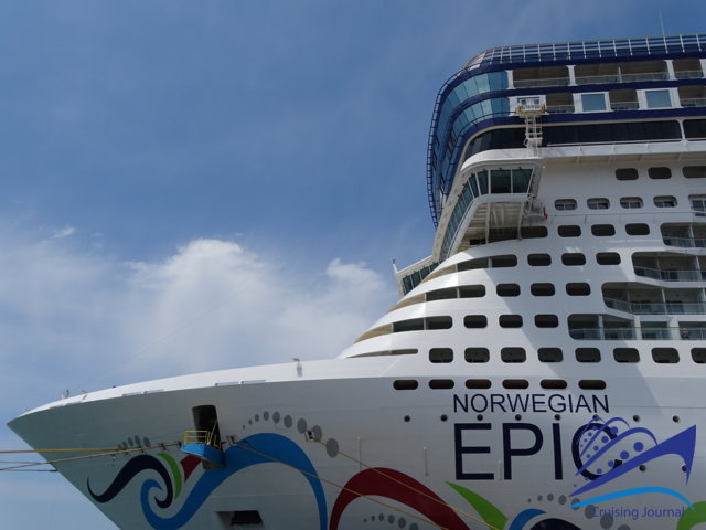 Norwegian Epic: elegance and freestyle