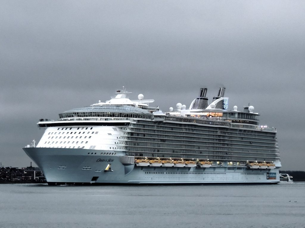 Imagem mostra o Oasis Of the Seas