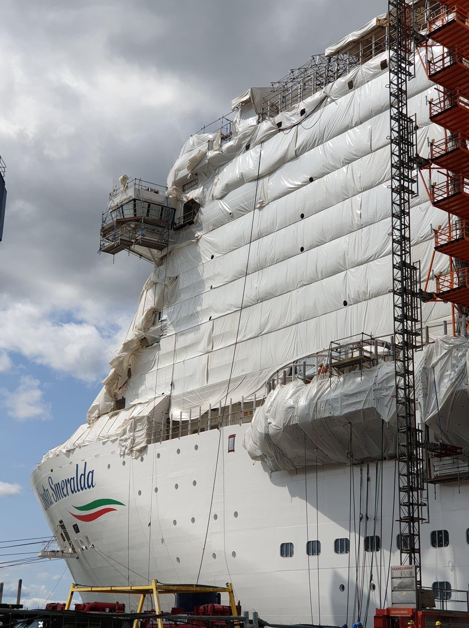 Costa Smeralda: Wie ein Schiff geboren wird