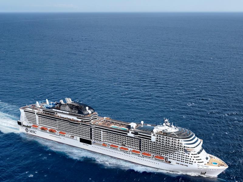Msc Grandiosa: reportage della Vip Press Cruise