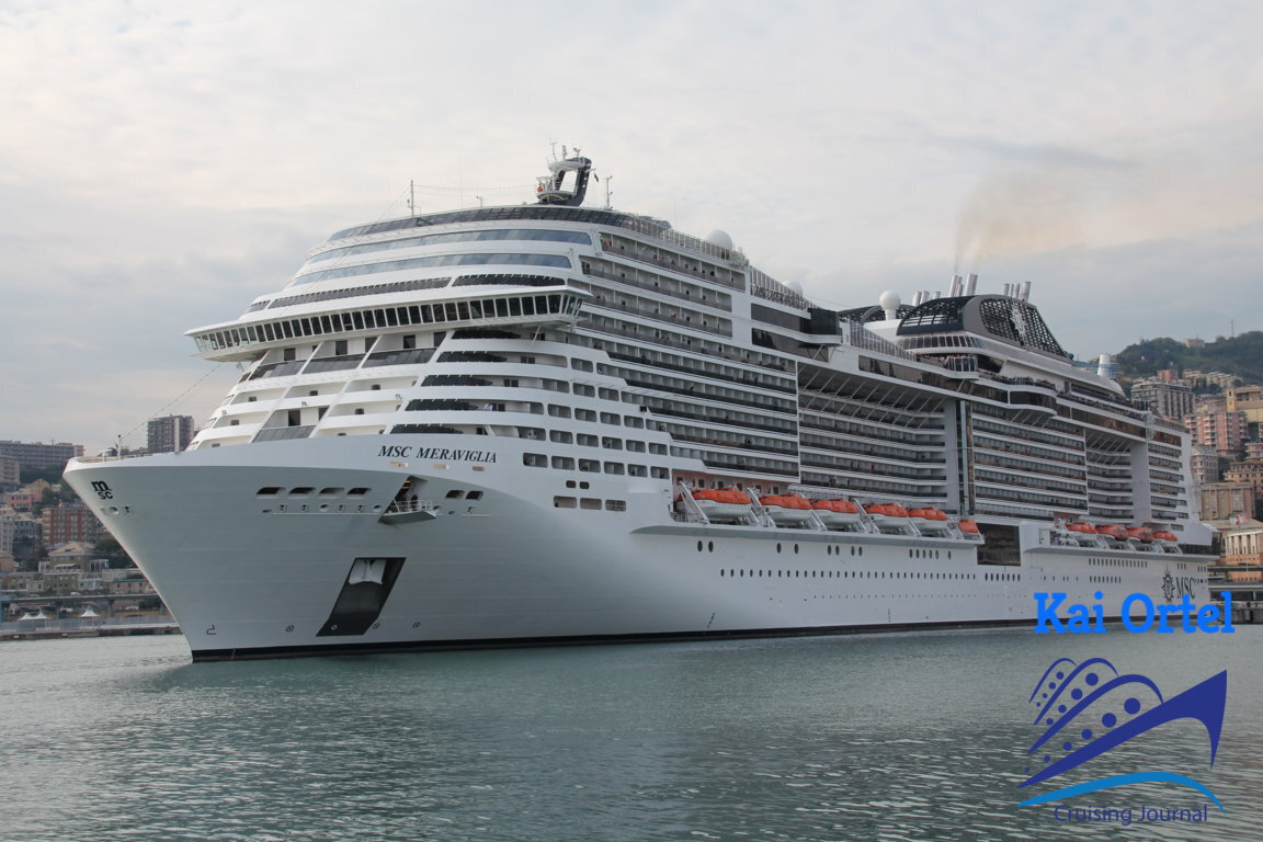 Msc Meraviglia: Flaggschiff-feeling im Mittelmeerraum