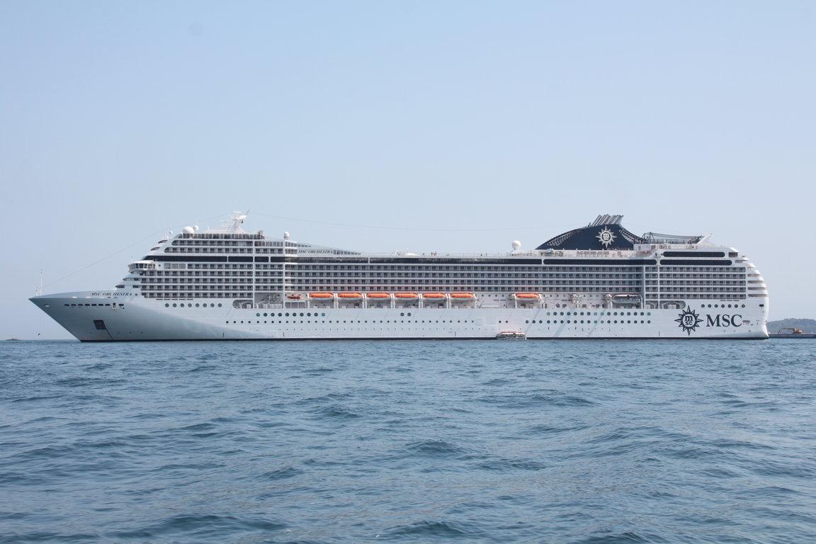Msc Orchestra: un crucero en estilo italiano