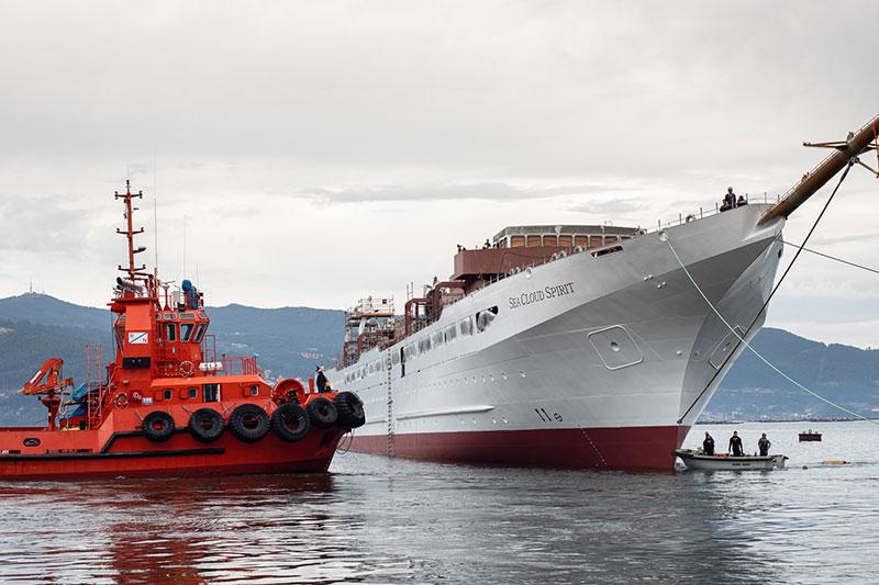 Jungfernfahrt der Sea Cloud Spirit im August 2020 geplant