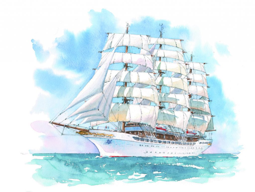 Sea Cloud Buchungsstart für die Sea Cloud Spirit