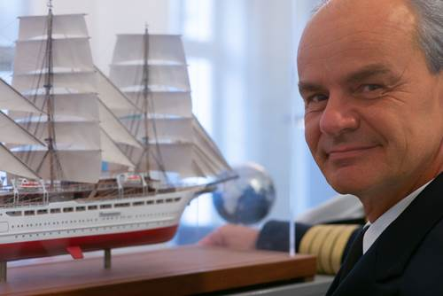 Gerald Schöber devient capitaine du Sea Cloud Spirit