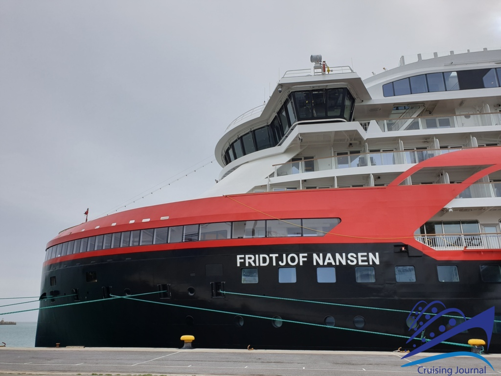 Fridjof Nansen: the video of the new Hurtigruten