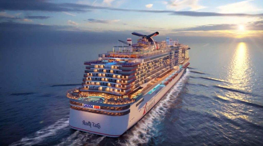 Mardi Gras coming soon: the newest ship from Carnival