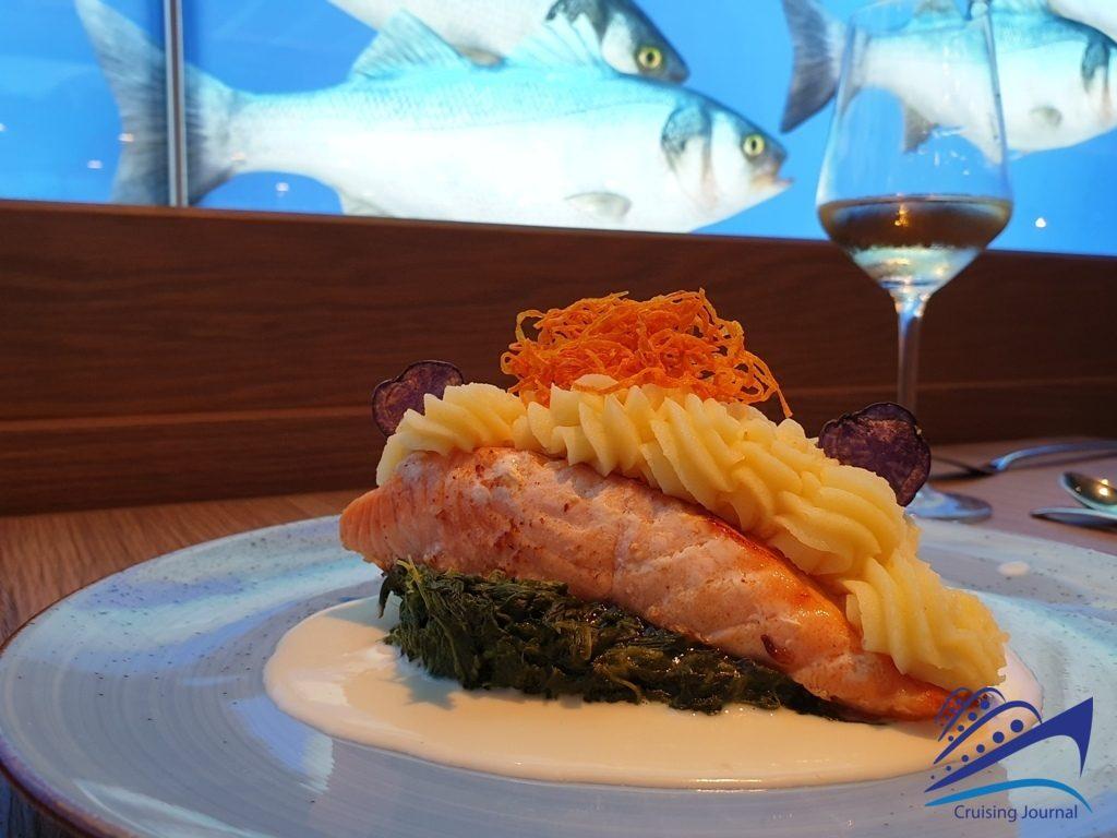 Ocean's: le meilleur poisson sur Aida Nova