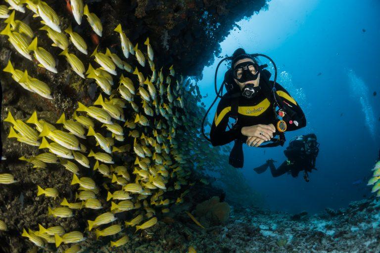 Mykonos plongée en apnée
