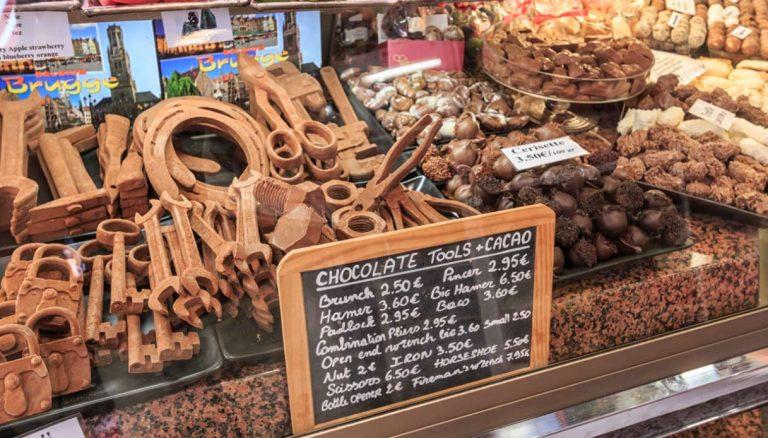 Chocolate em Bruges