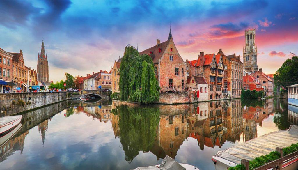 Brugge auf einer Kreuzfahrt