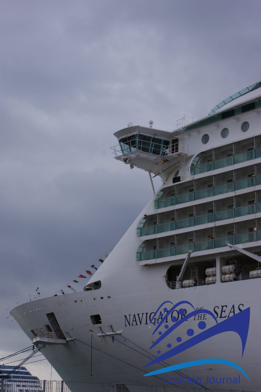 A stroll onboard the Navigator of the Seas