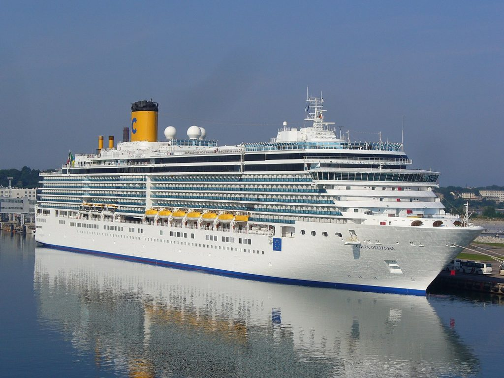 Costa Kreuzfahrten ist abfahrbereit