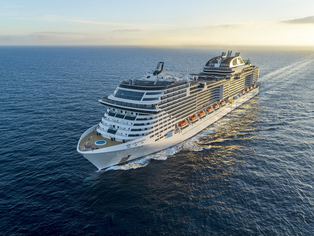 On board the Msc Grandiosa: November 2020