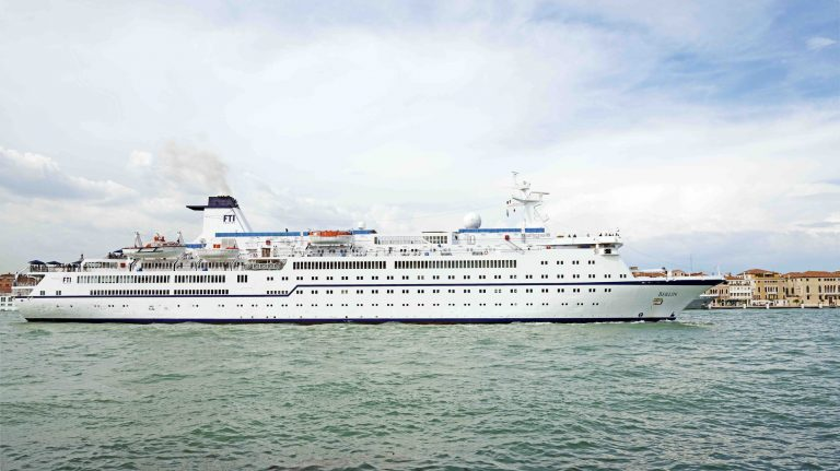 MS Berlin in Venedig