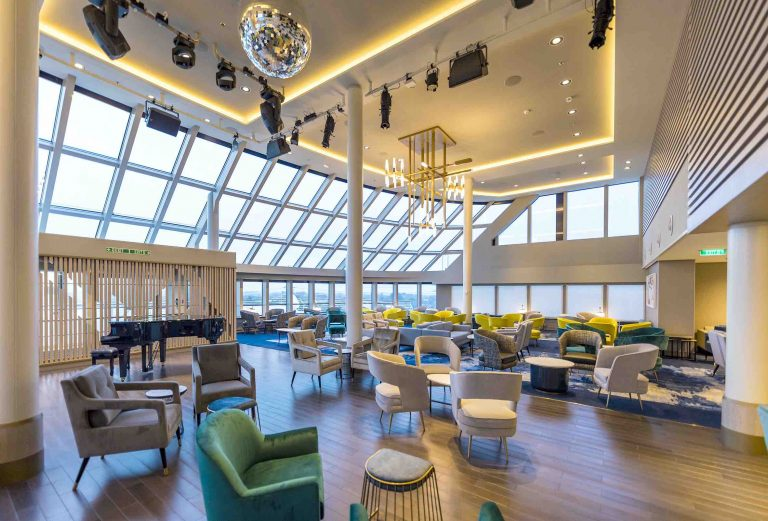 Saga Cruises Spirit of Adventure The Britannia Lounge