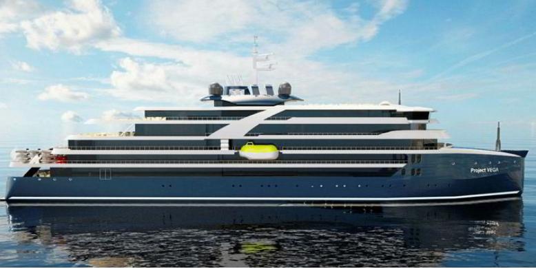 Swan Hellenic e Helsinki Shipyard: Vega3 chega