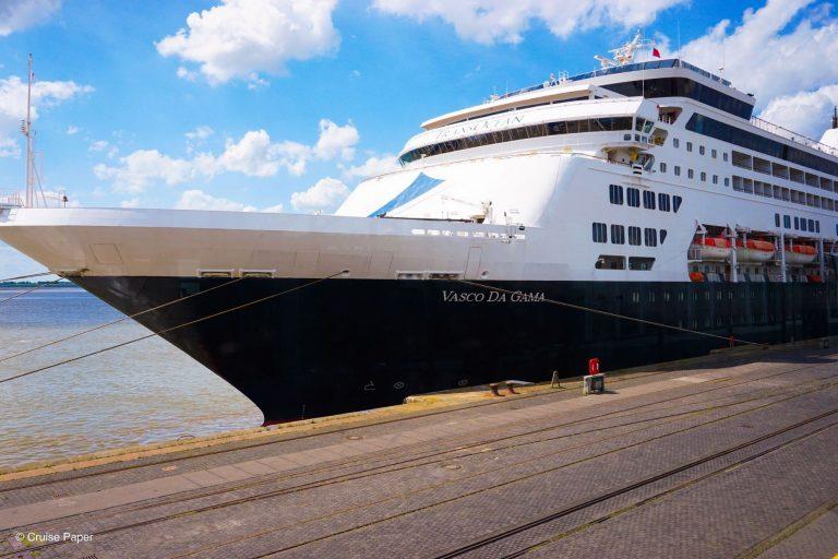 nicko cruises VASCO DA GAMA in Bremerhaven