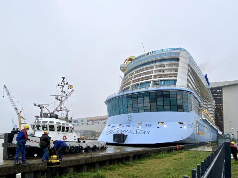 Royal Caribbean Odyssey of the Seas at Meyer Werft Shipyard