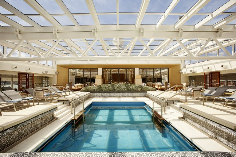 Viking Ocean Main_Pool_Day_Covered
