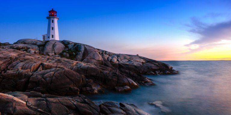 Nova Scotia's most famous landmark, the iconic Peggy's Cove