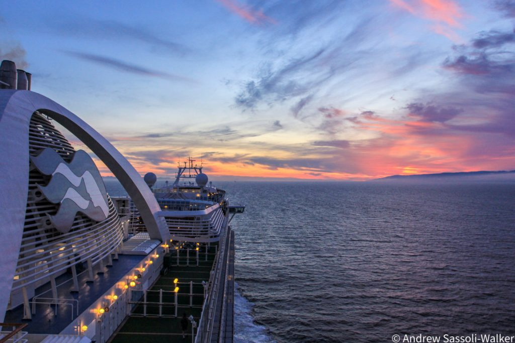 Cruzeiro no Alasca a bordo do Emerald Princess