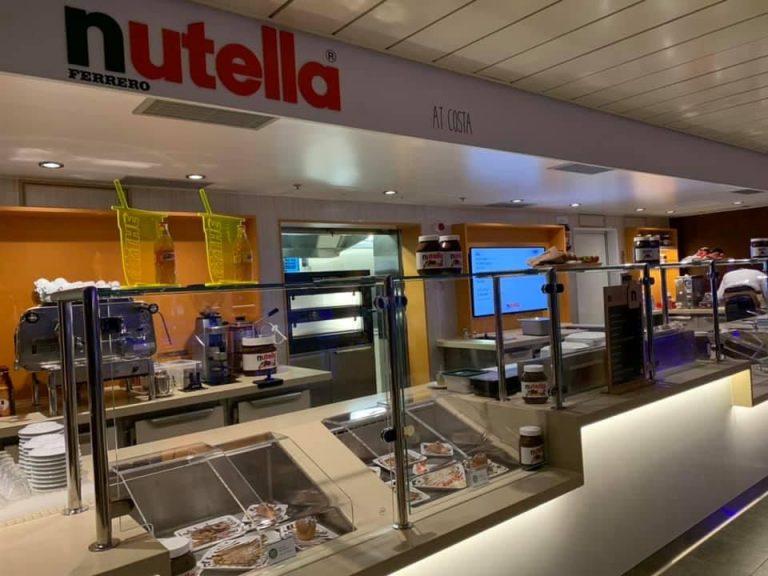 Nutella at Costa