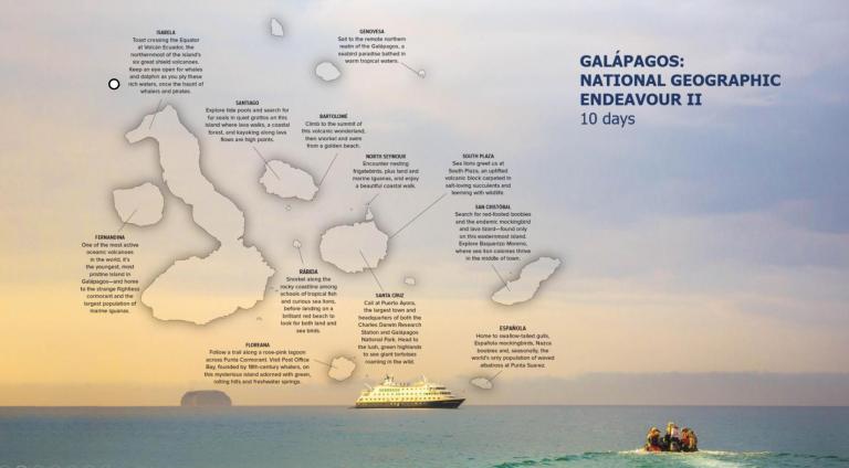 Lindblad Expeditions Galapagos