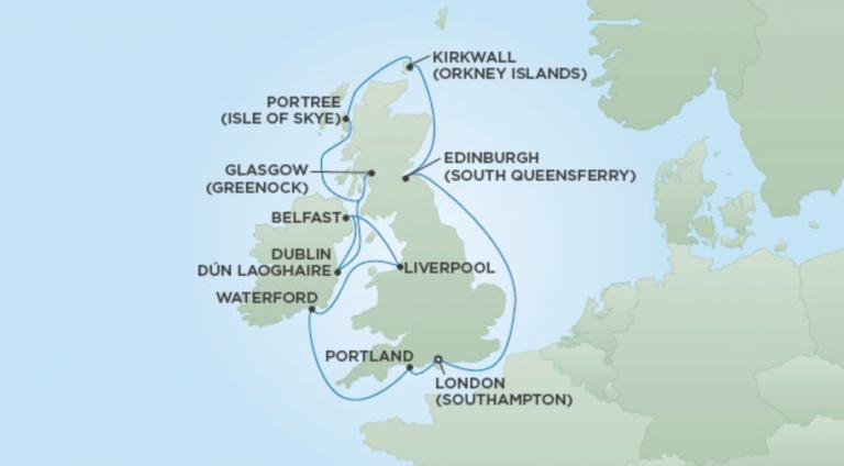 Itinerario Inaugurale Seven Seas Splendor