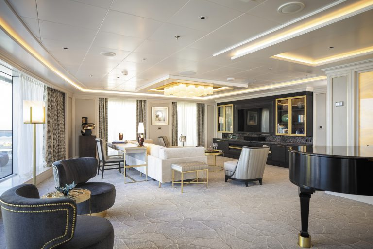Regent Suite Soggiorno Seven Seas Splendor