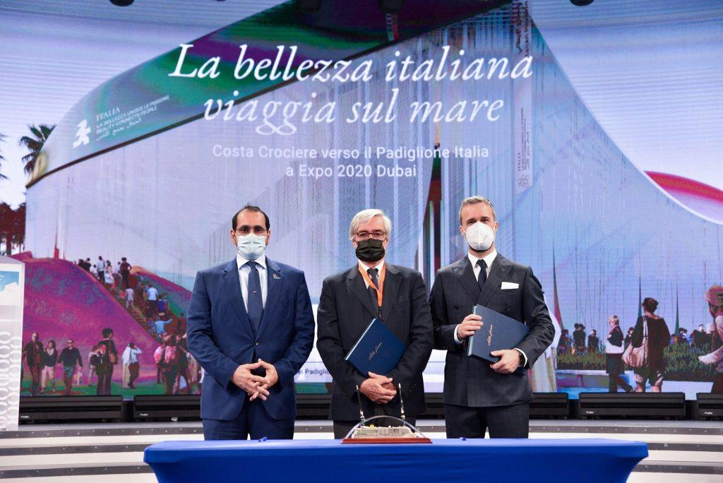 Costa gold sponsor del padiglione Italia a Expo Dubai