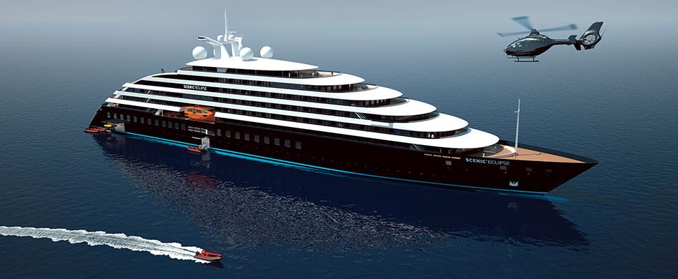 Scenic cruises posa della cinghia per Eclipse II