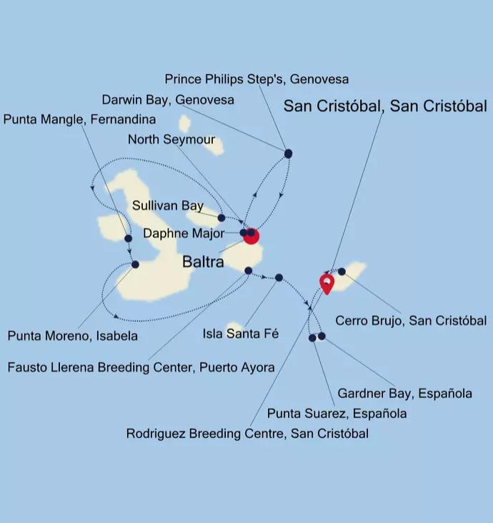 Silversea Cruises Galapagos