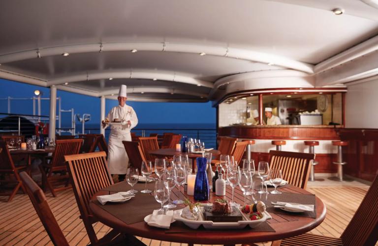 silversea cruises grill
