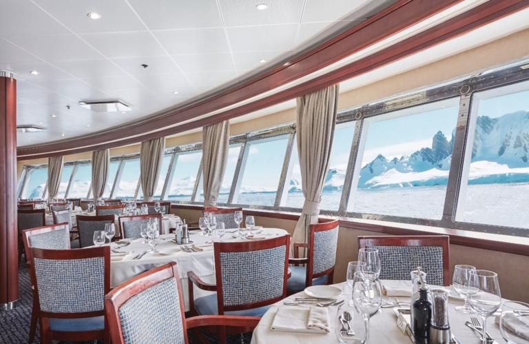 Silversea Cruises ristorante