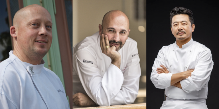 3 Top Chefs on board with Swan Hellenic