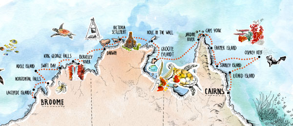 Coral Expeditions Itinerary