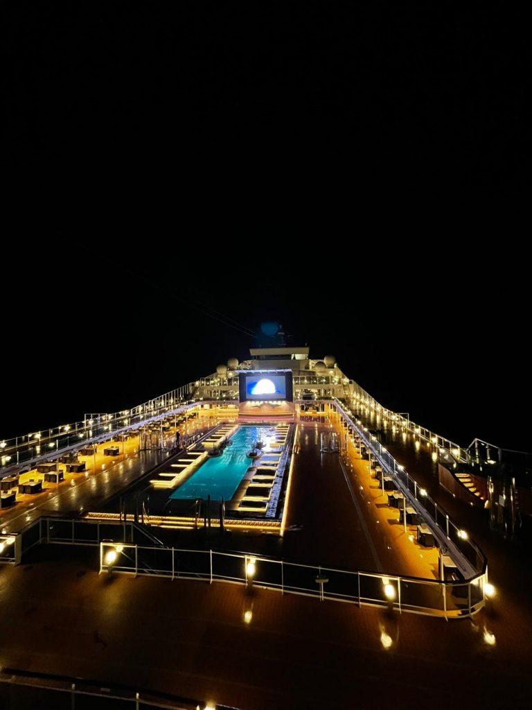 A bordo di Msc Grandiosa